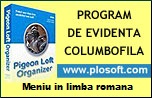 Program EVIDENTA COLUMBOFILA